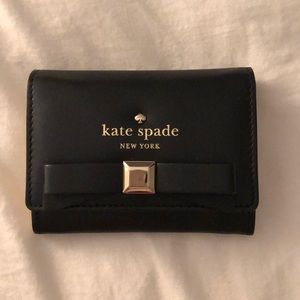 Kate Spade mini wallet with bow